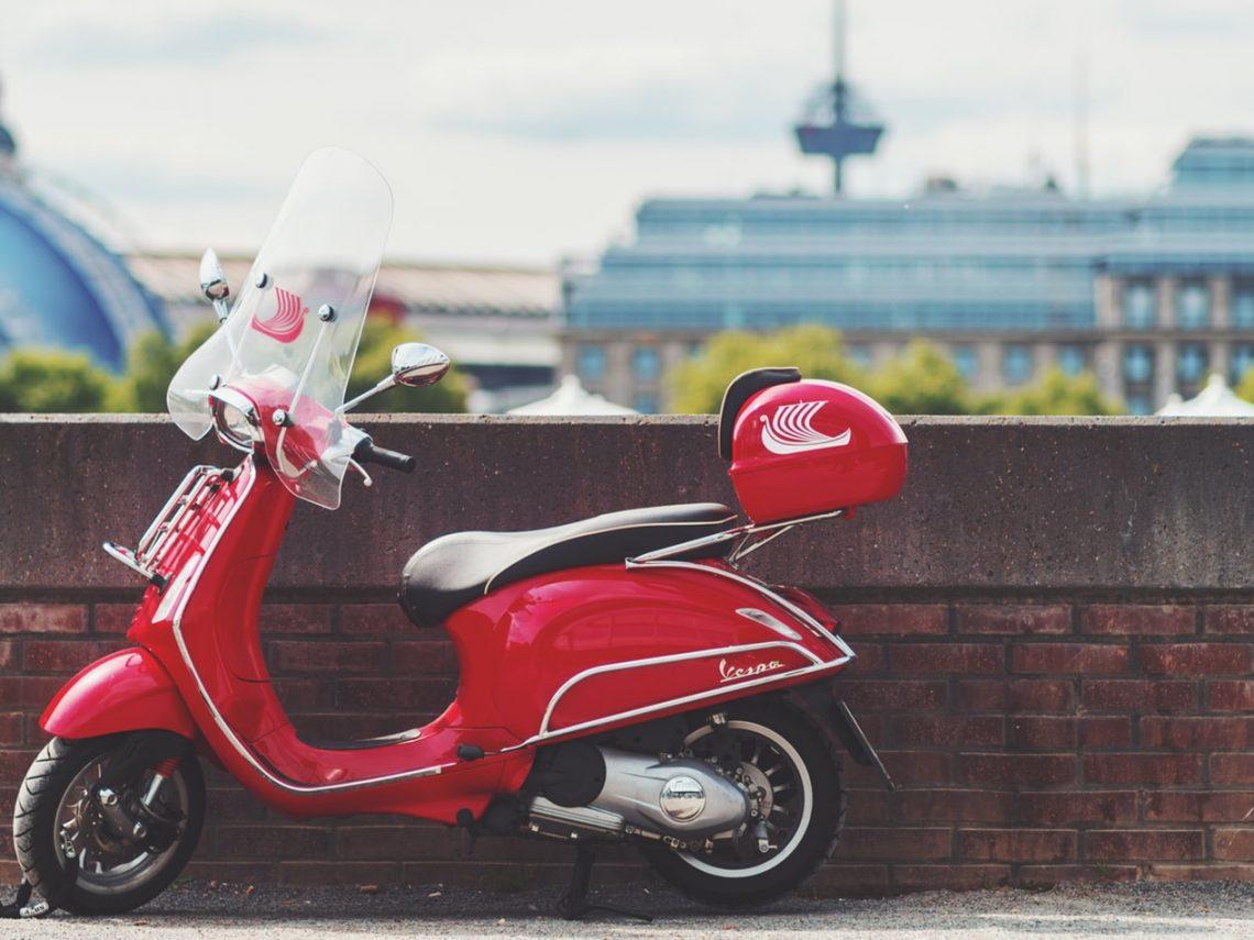 Vespa S scooter